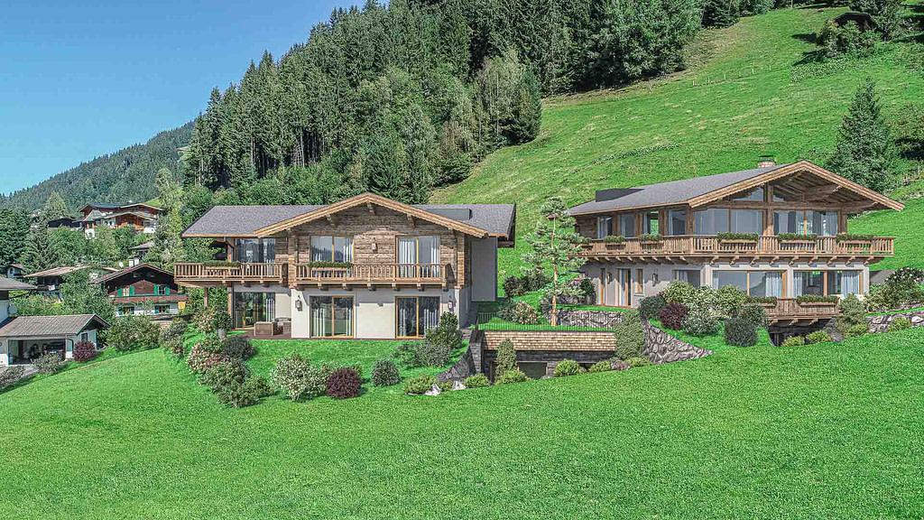 Gartenwohnung mit Wellnessbereich - KITZIMMO Immobilien