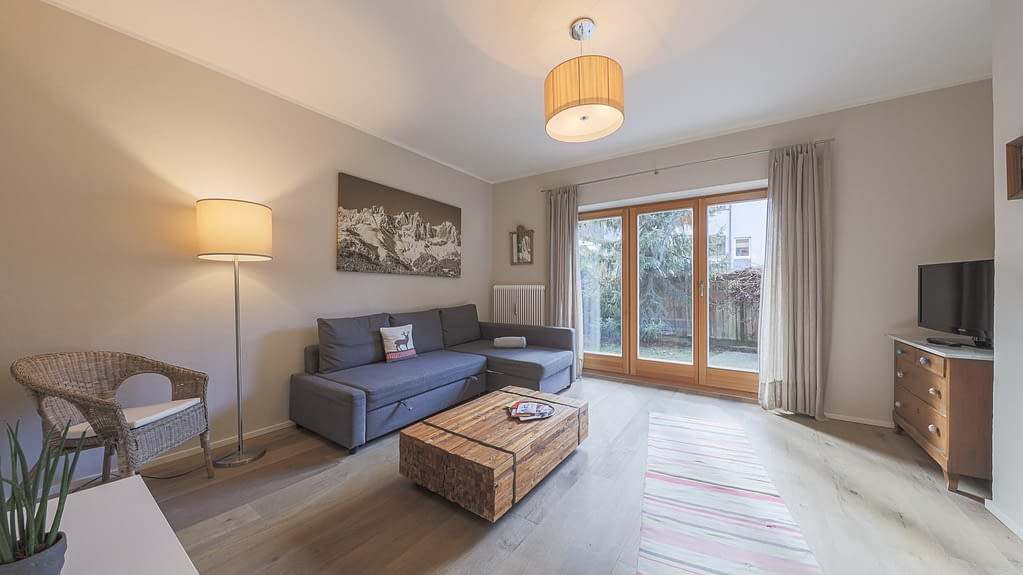moderne Gartenwohnung in sonniger Lage - KITZIMMO Immobilien