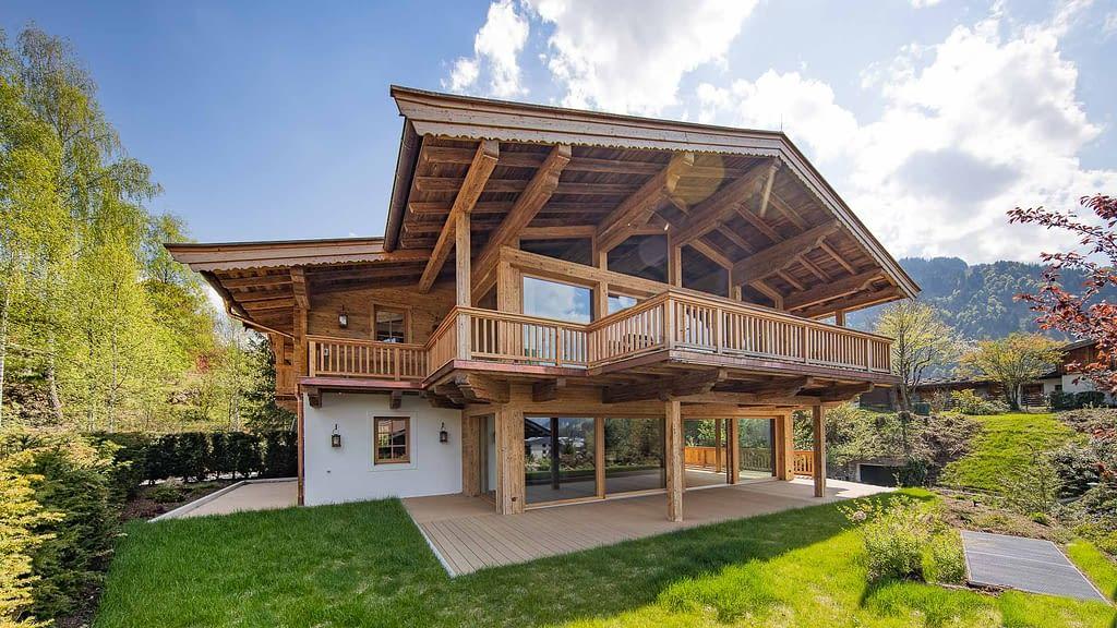 elegante Gartenwohnung auf der Bichlalm Kitzbuehel - KITZIMMO