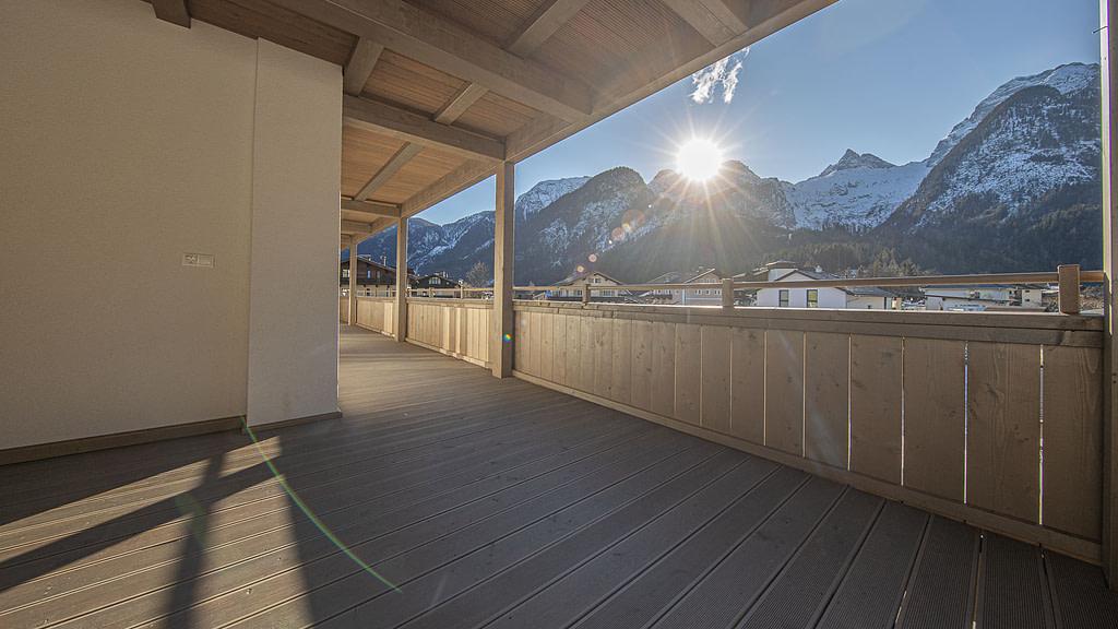 moderne Terrassenwohnung mit Panoramablick in Lofer - KITZIMMO